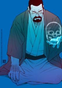 今週のヒゲワンドロ「死神/スカル」【市川和秀の福袋】